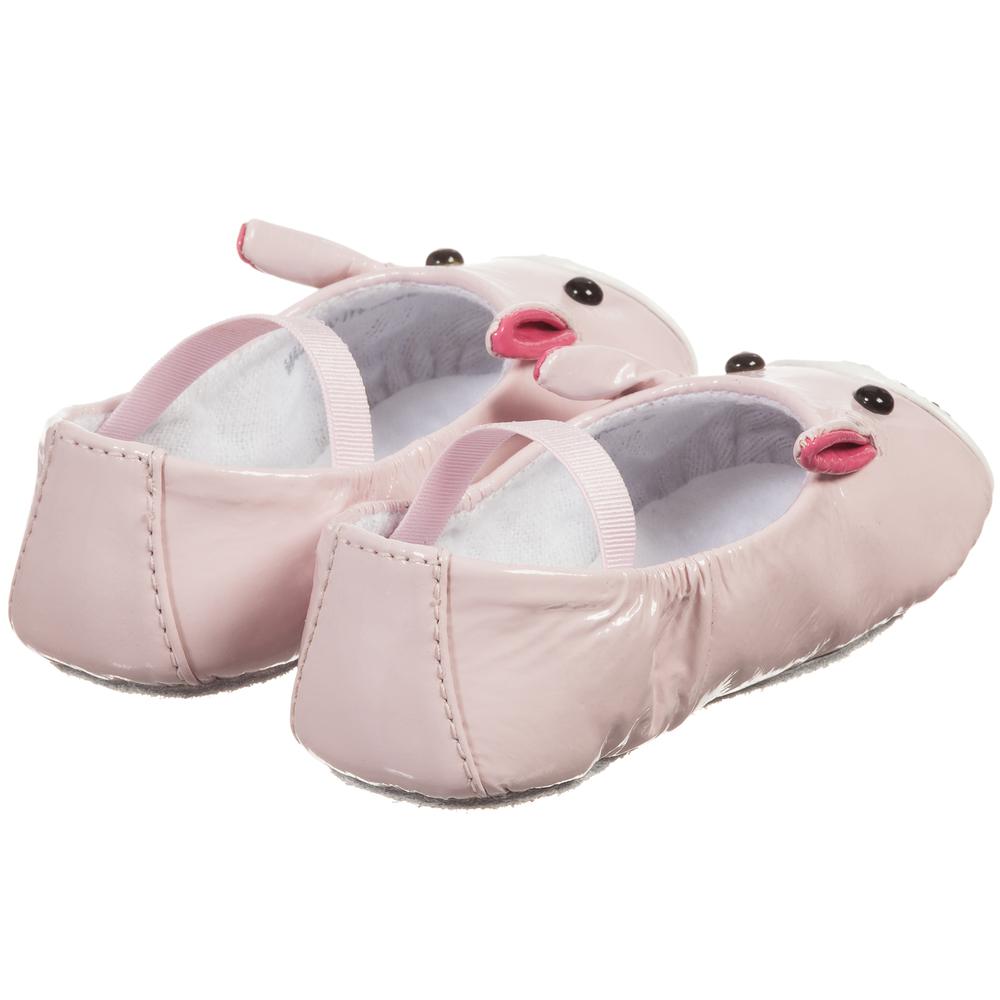 Bloch Baby Girls Pink Lapin Ballerina Shoes