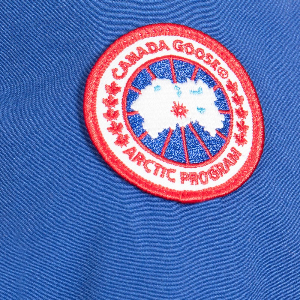 Canada Goose victoria parka sale discounts - Canada Goose - Blue 'Lamb' Down Padded Baby Snowsuit   Childrensalon