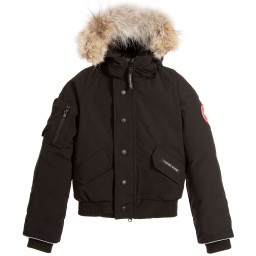 Canada Goose toronto outlet cheap - Canada Goose - Red Down Padded 'Lynx Parka' Jacket | Childrensalon