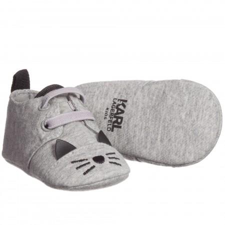 Baby Boys Grey 'Kitten Kolors' Pre-Walker Shoes