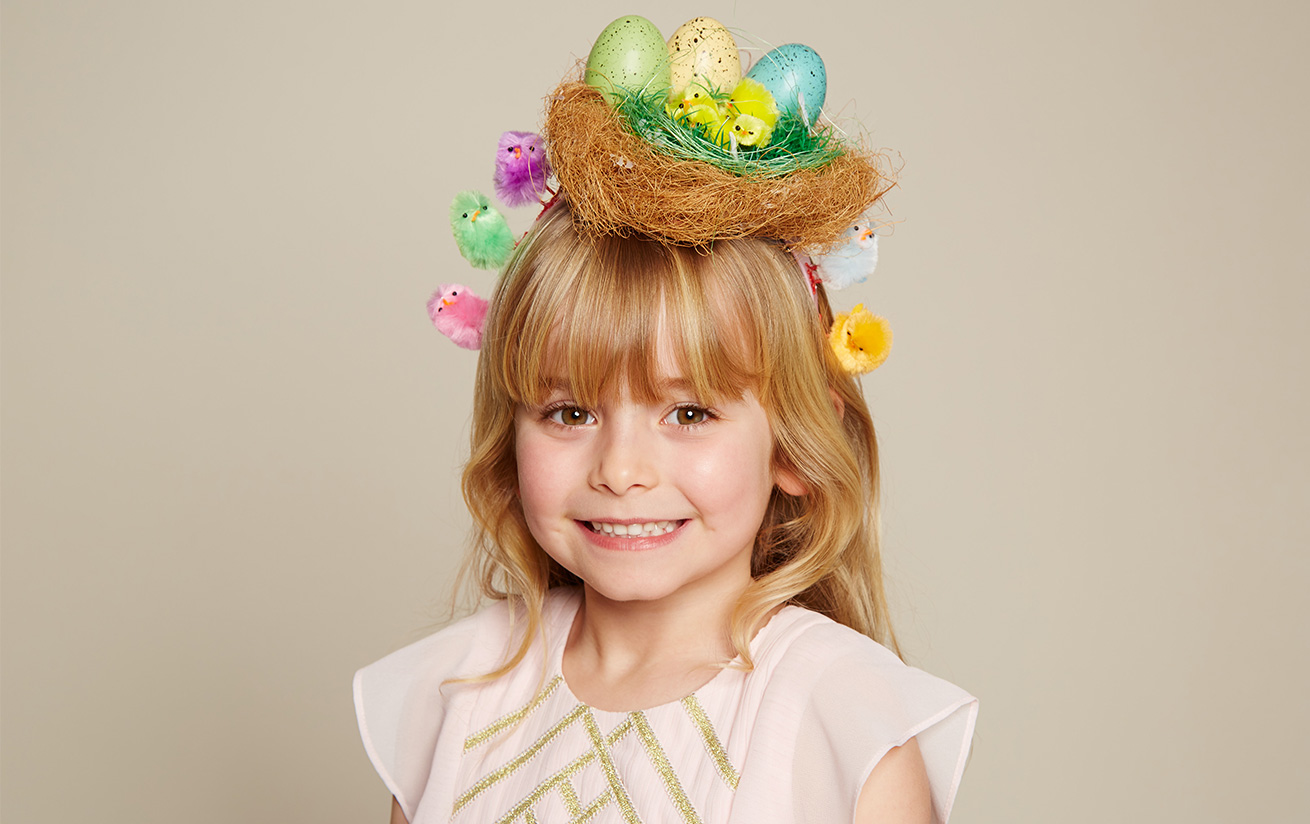 how to make easter hats video
