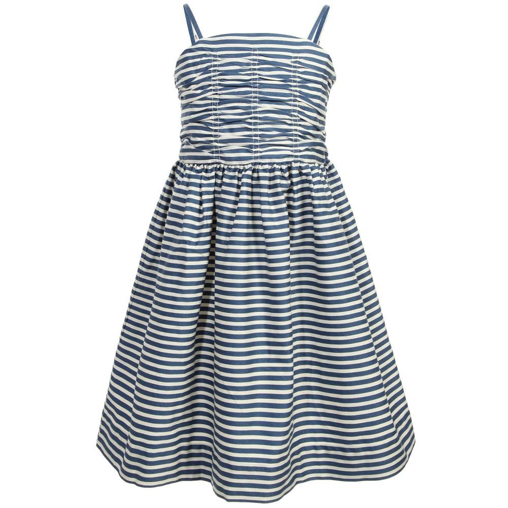 ralph-lauren-blue-white-stripe-strap-dress-102596- Ahoy sailor! Ralph Lauren  ...