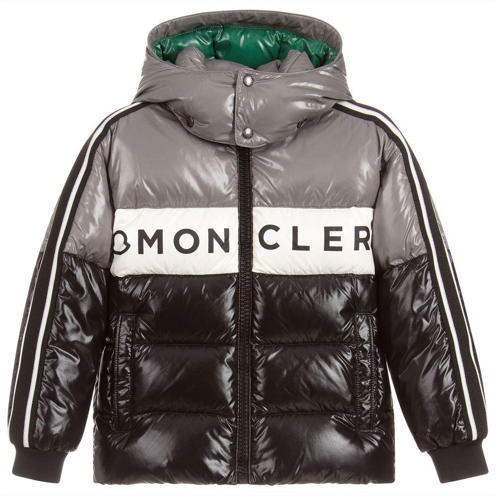 18ae4e17b Grey Down Padded Puffer Jacket