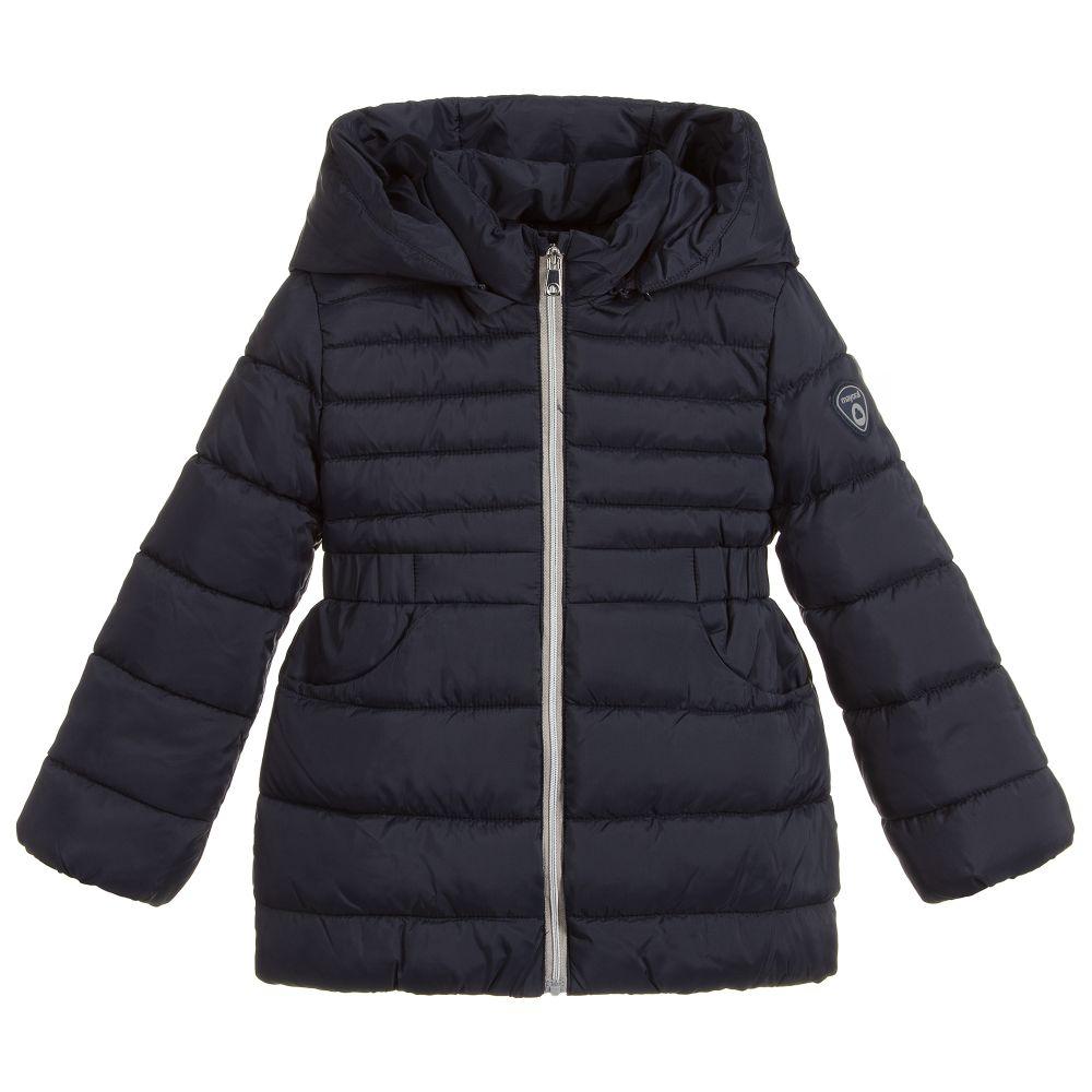 229c8ab7e26 Girls Navy Blue Puffer Coat