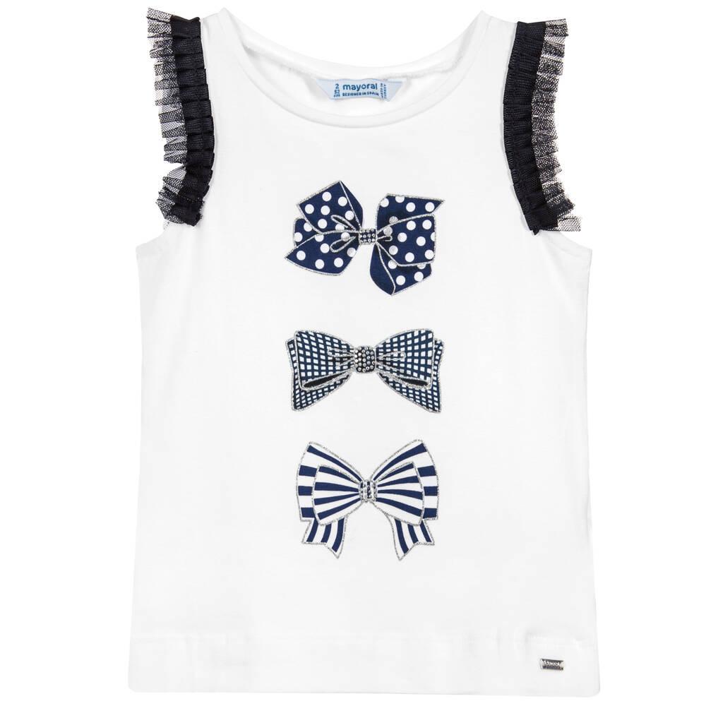 c1d255058 Mayoral - Girls Blue Knitted Bolero