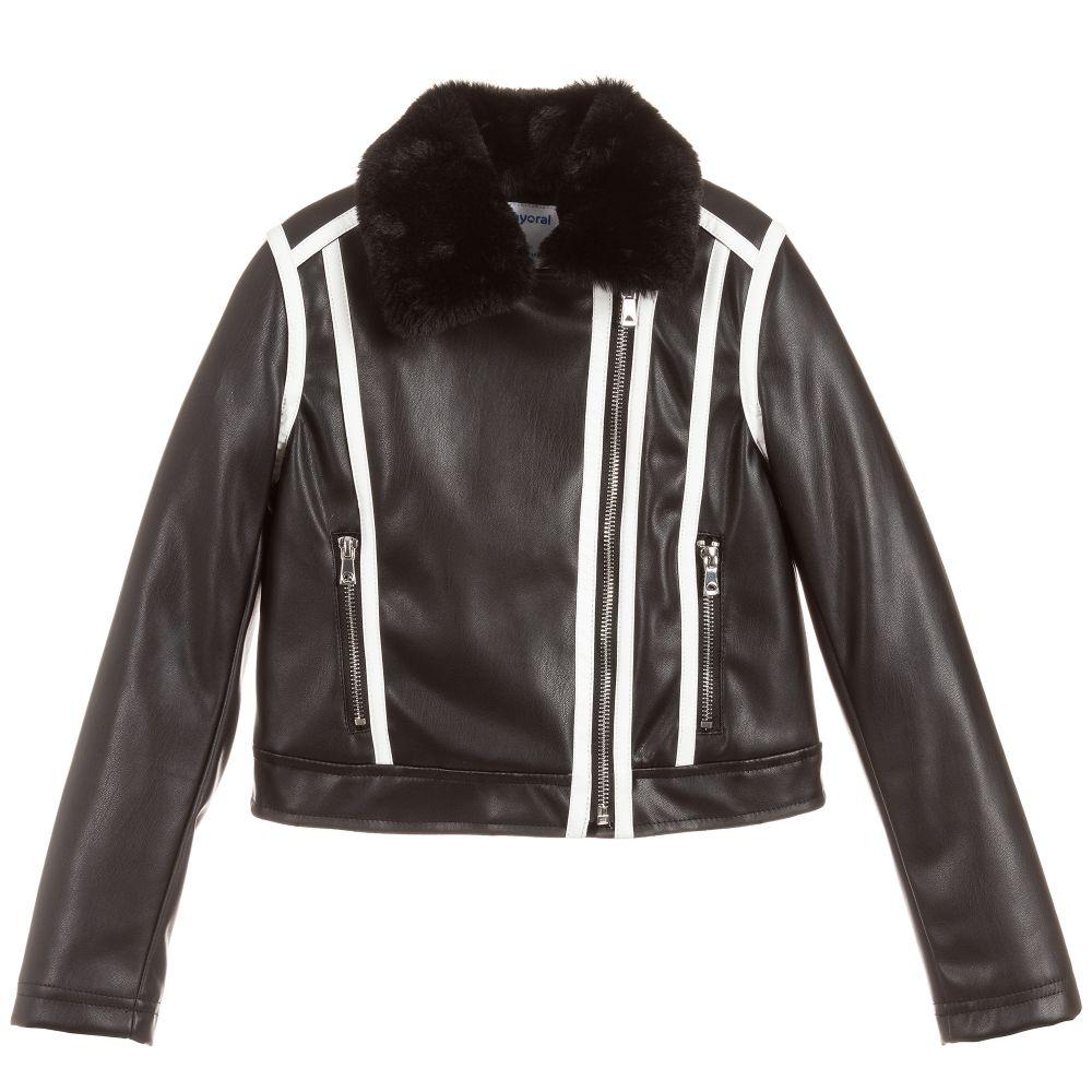 c22d4c935 Black Faux Leather Jacket