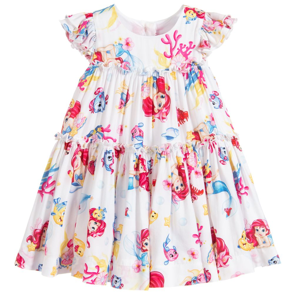 b61eda0d0 Monnalisa Bebé - Girls Viscose Disney Dress