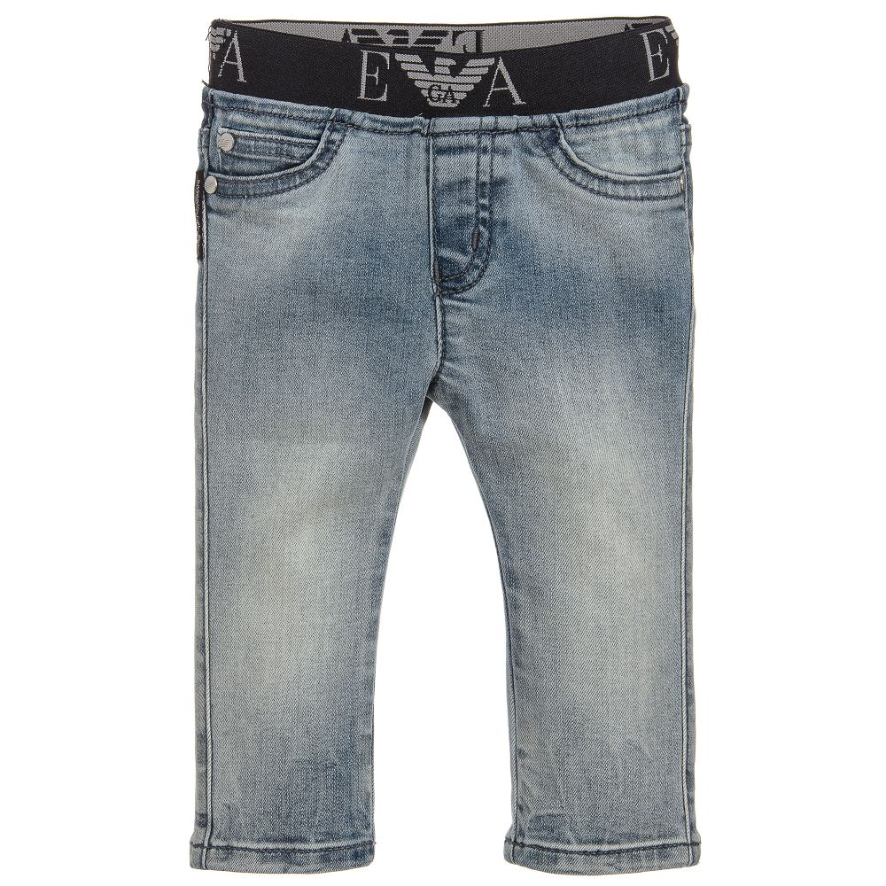 1bef07ae6fe3 Emporio Armani - Boys Blue Denim Jeans