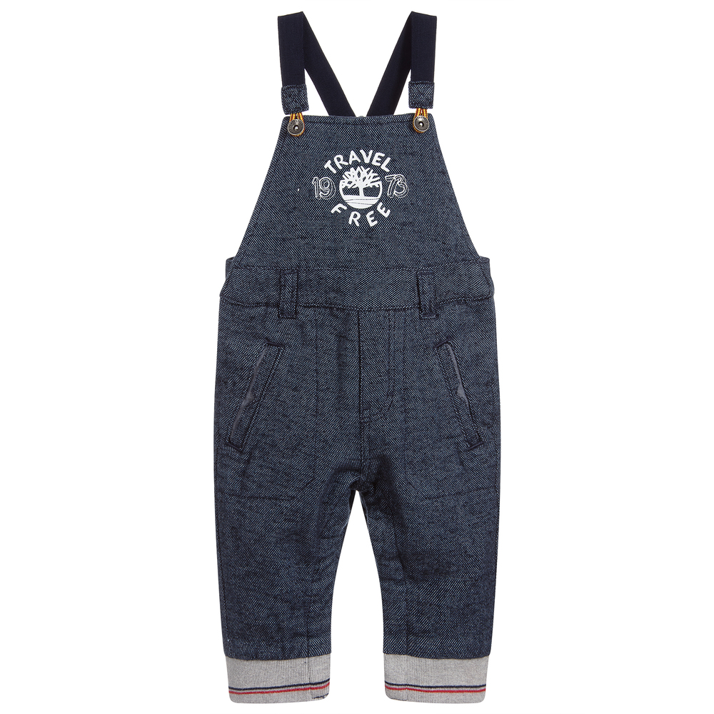 Baby Boys Blue Dungarees