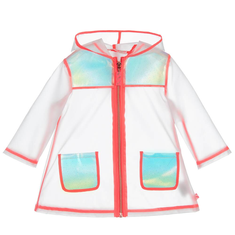 13faa0d933a494 Billieblush - Girls Transparent Raincoat