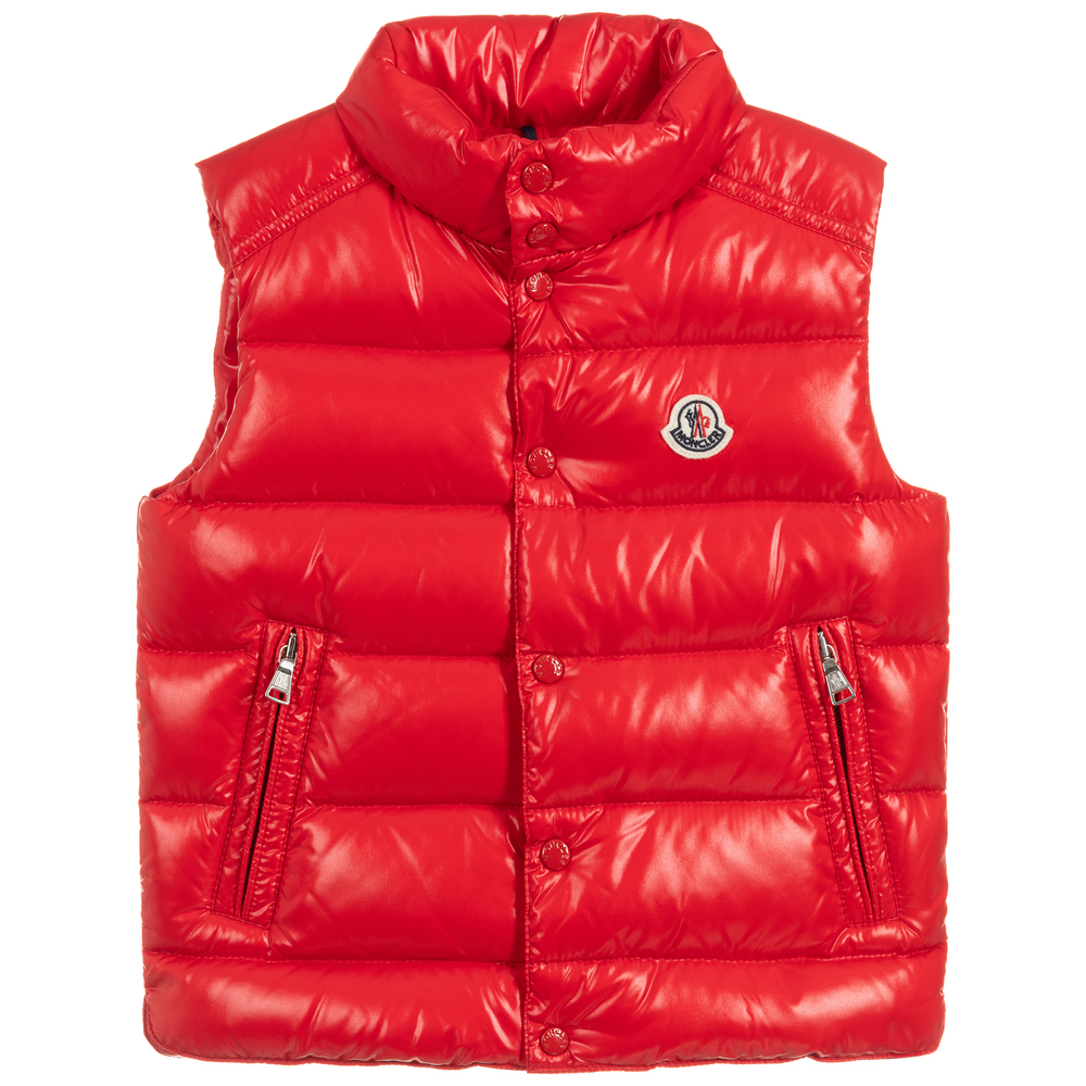 6af13a8ab4 Boys Red Down Puffer Gilet