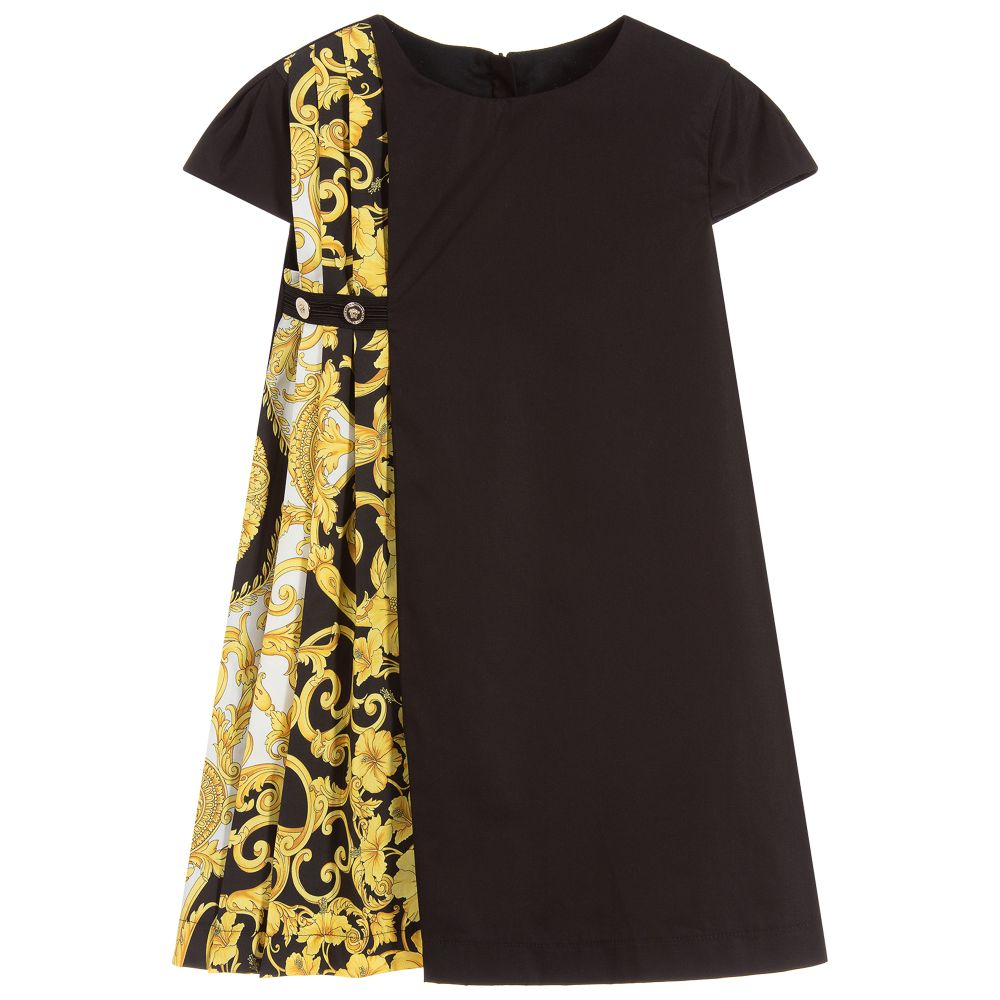 a9c30b94d5bf Young Versace - Girls Baroque Cotton Dress