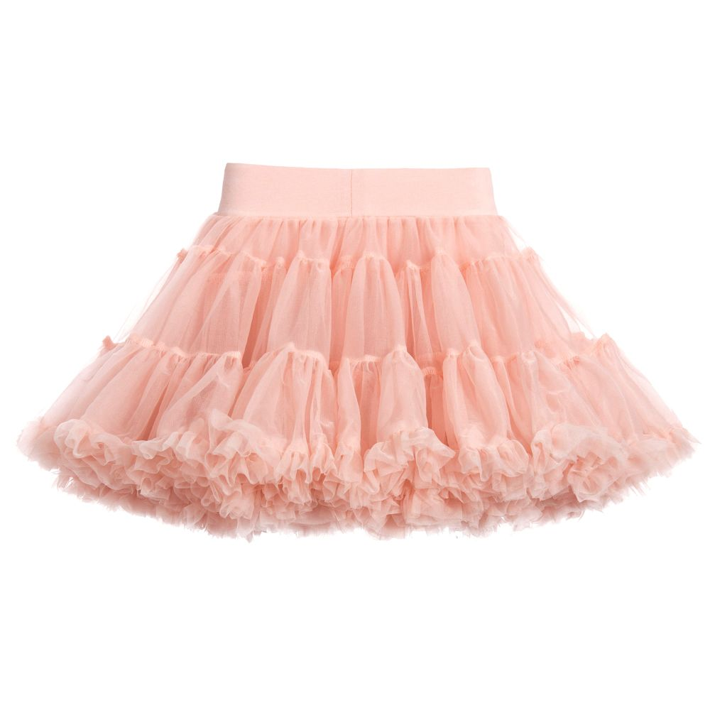 Blush Pink Tulle Tutu Skirt