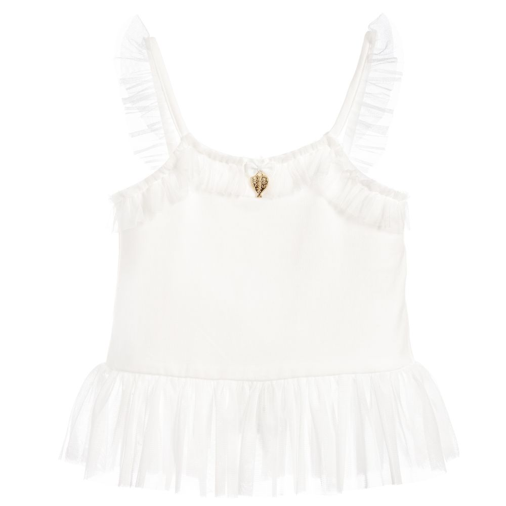 Angel's Face - Girls Ivory Camisole Top | Childrensalon