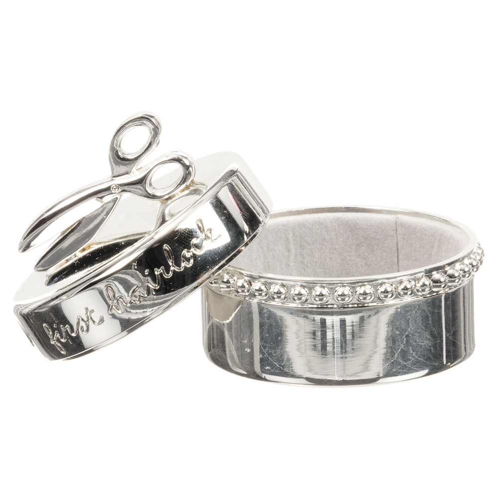 Silver Plated Baby Box (5cm)