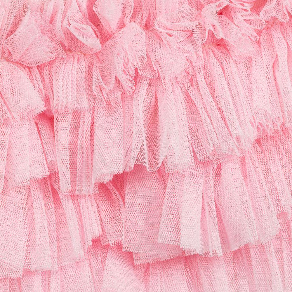 Beau Kid S Pink Tulle Skirt Set