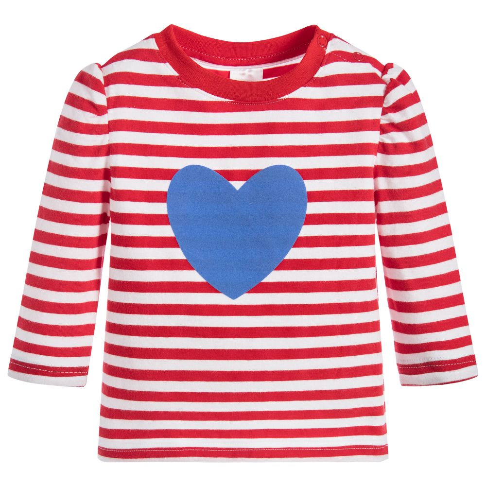 Blade rose girls red striped t shirt childrensalon