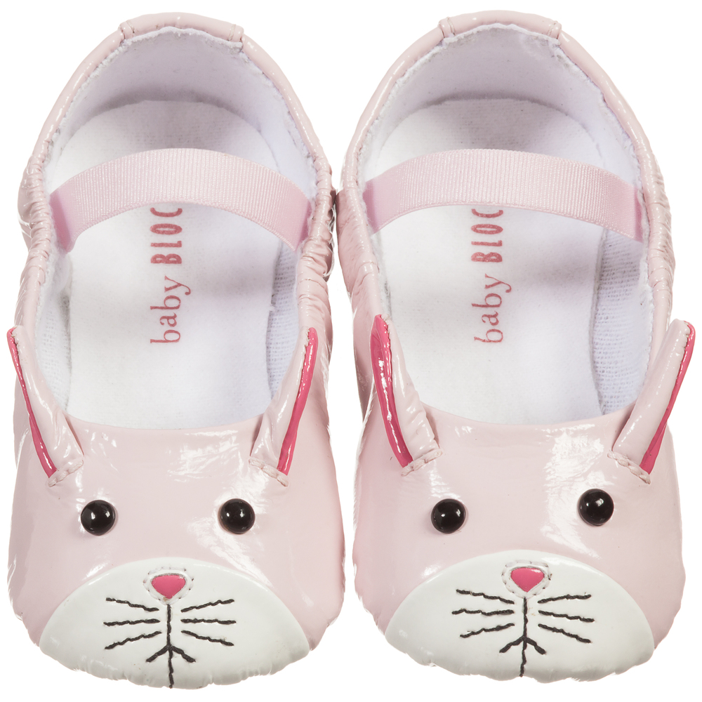Bloch Baby Girls Pink Lapin Ballerina Shoes