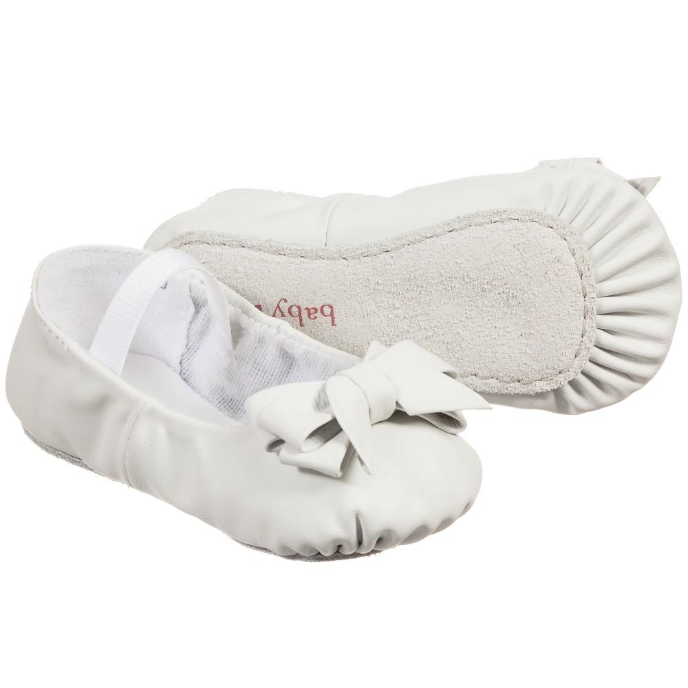 Bloch Baby Girls White Ayva Pre Walker Shoes