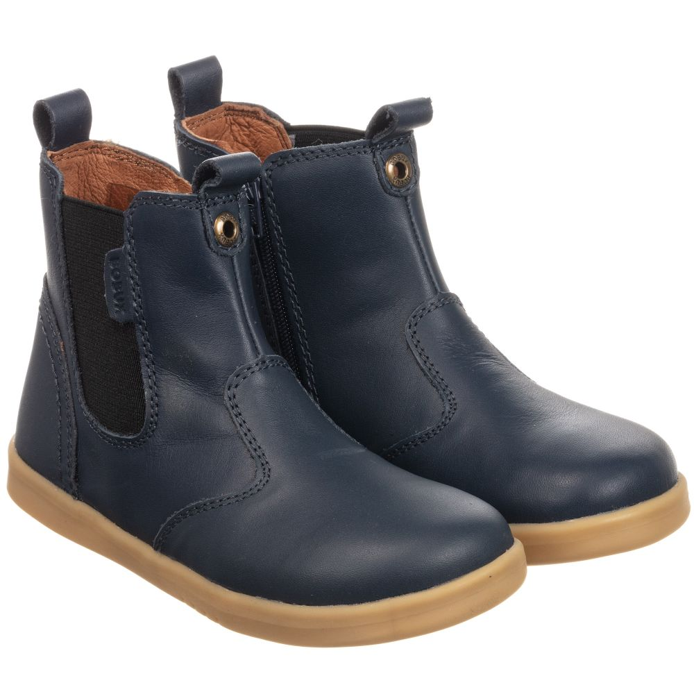 best sale discount price best sneakers Blue Leather Ankle Boots