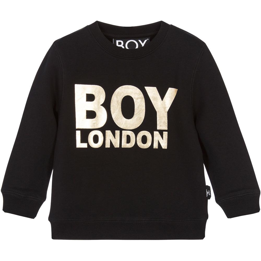 BOY London - Black & Gold Sweatshirt | Childrensalon