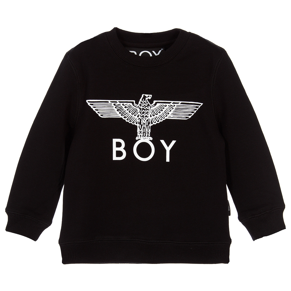 BOY London - Black & White Eagle Sweatshirt | Childrensalon