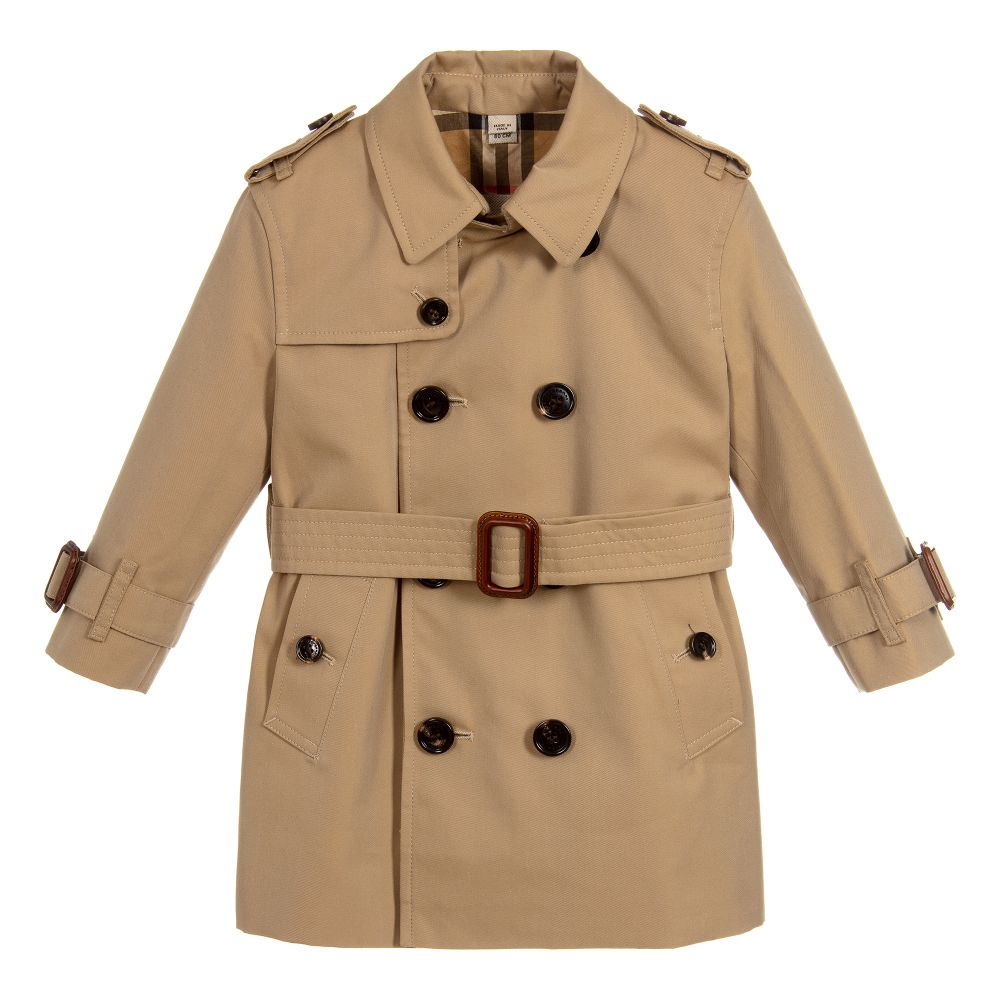 24bd4cbf2 Burberry - Baby Beige Trench Coat | Childrensalon