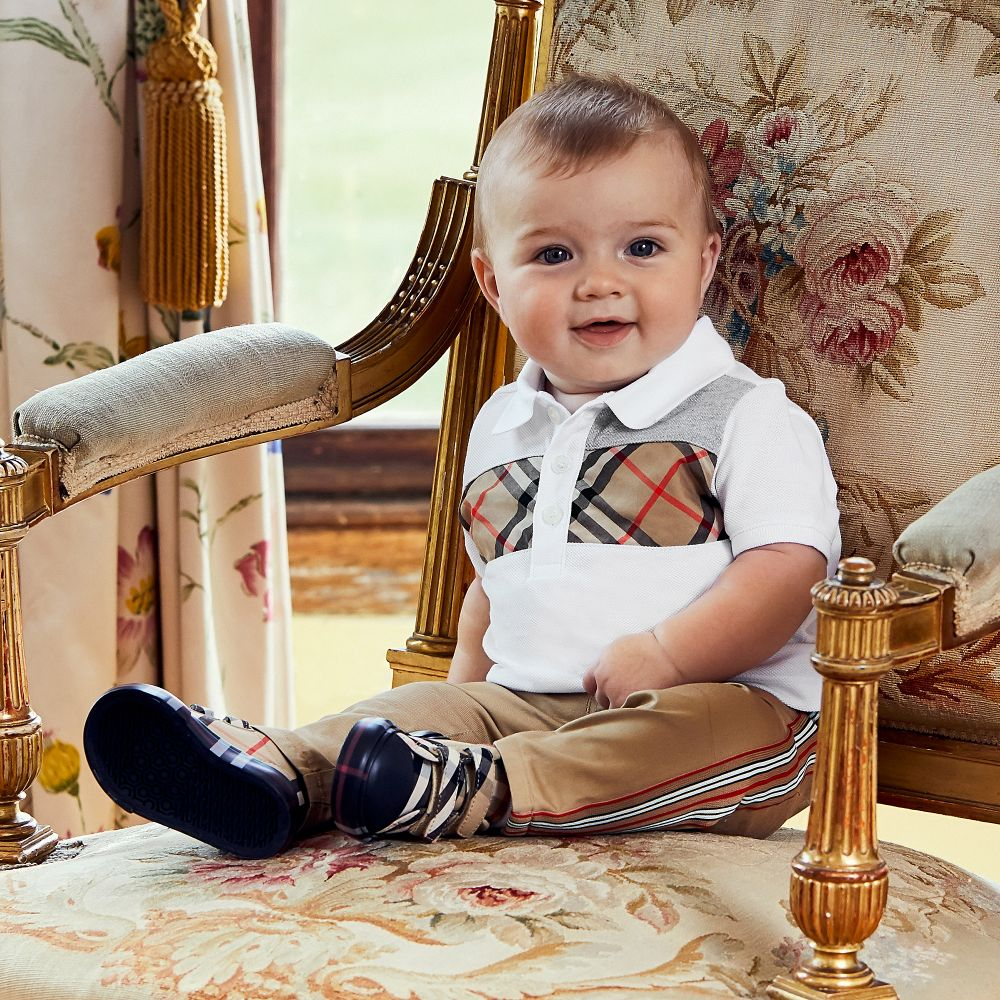 All Baby | Burberry | Baby burberry, Boy outfits, Baby boy