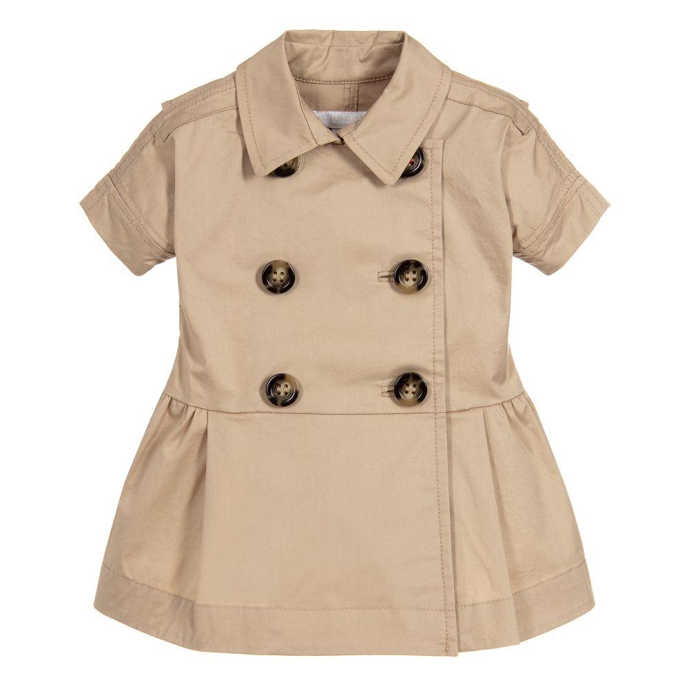 Burberry - Baby Girls Cotton Dress  Childrensalon-6855