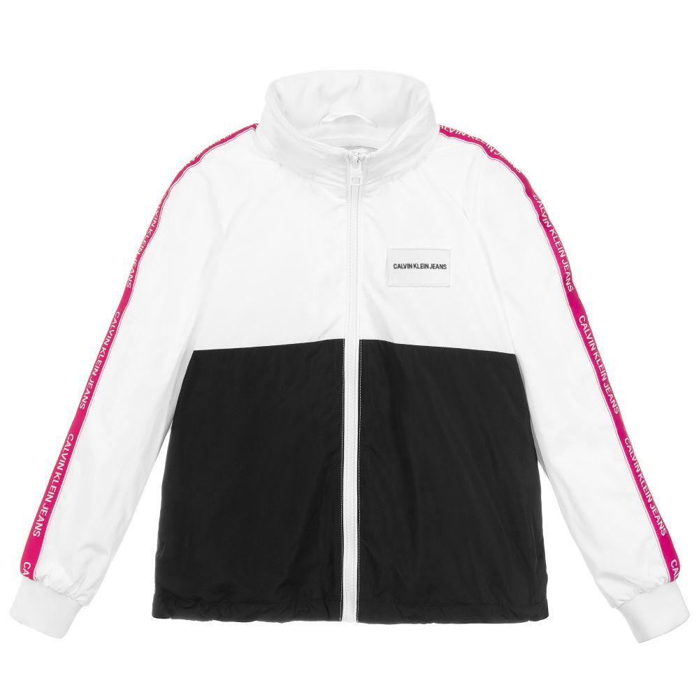 fdbea9b197b0 Calvin Klein Jeans - Girls Lightweight Jacket