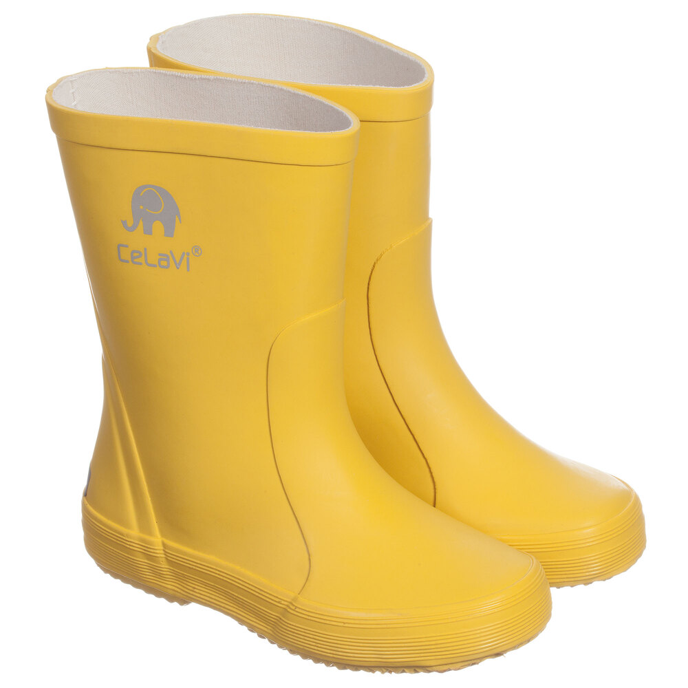 celavi yellow rain boots childrensalon