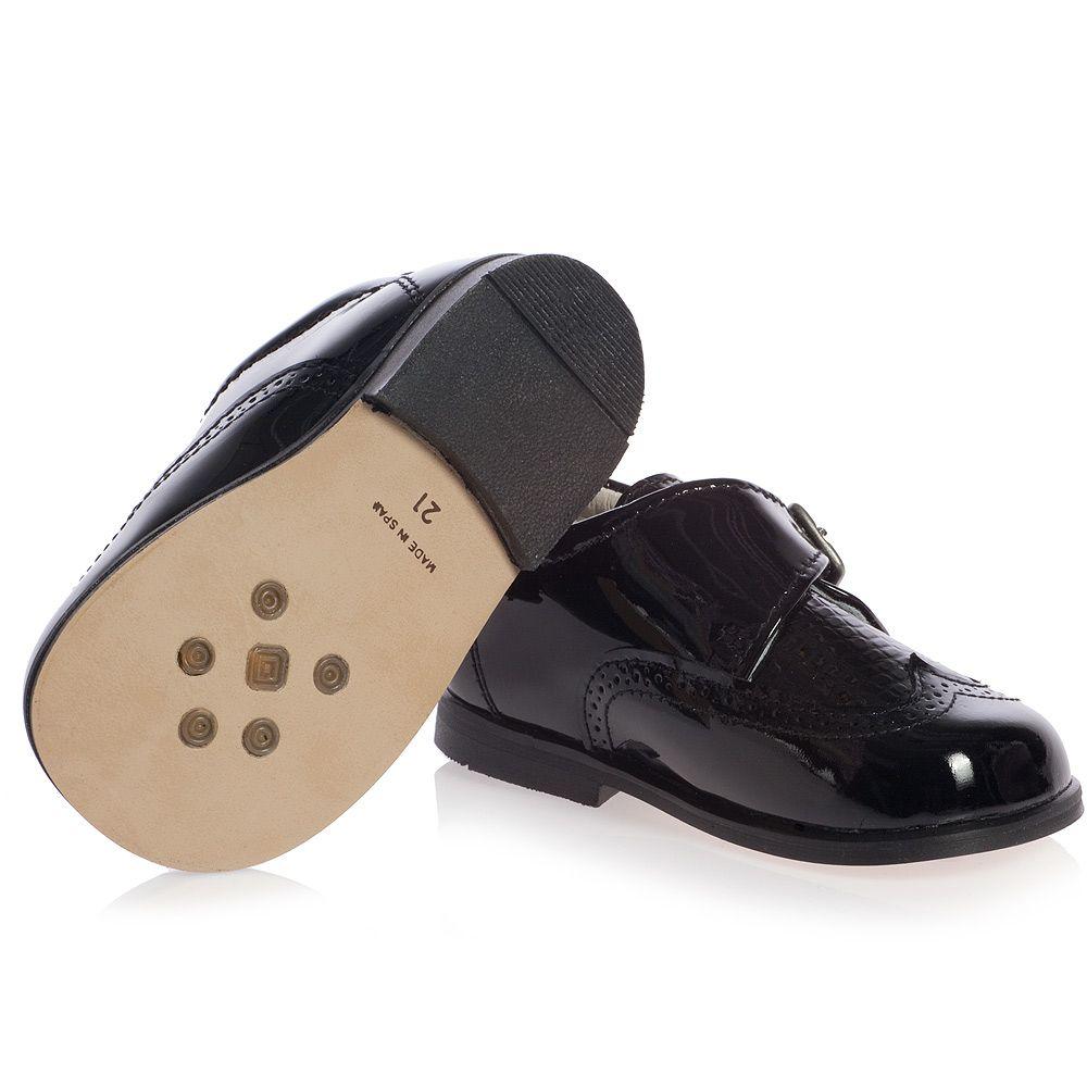 children s classics boys black patent leather shoes