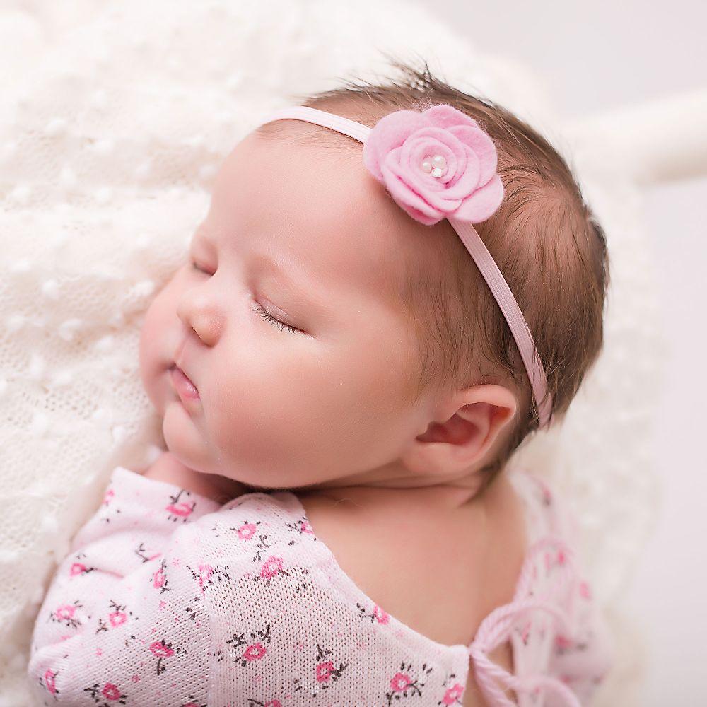 cute cute - baby girls pink headband | childrensalon