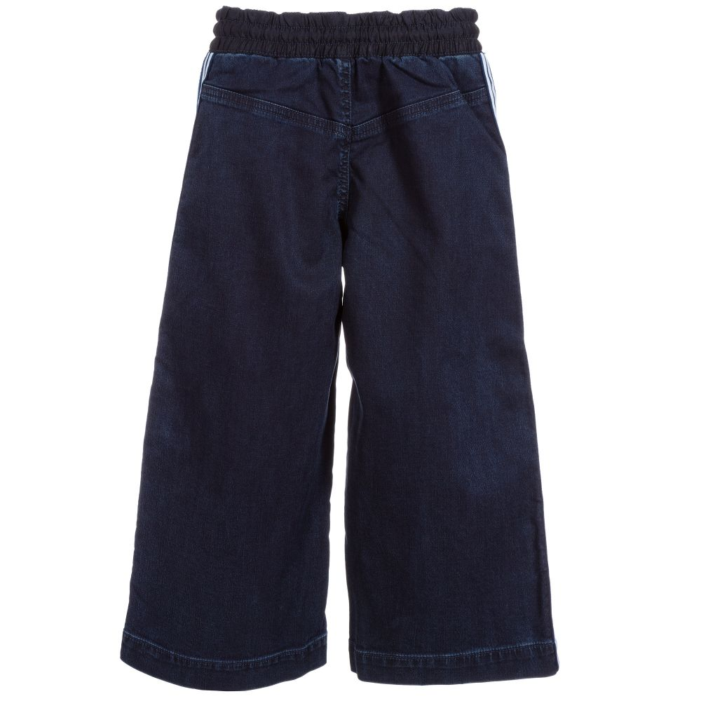 Joules Girls Minnie Jersey Trousers Yr in DENIM