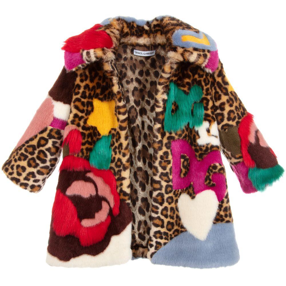 6977e4110 Dolce   Gabbana - Girls Faux Fur Coat
