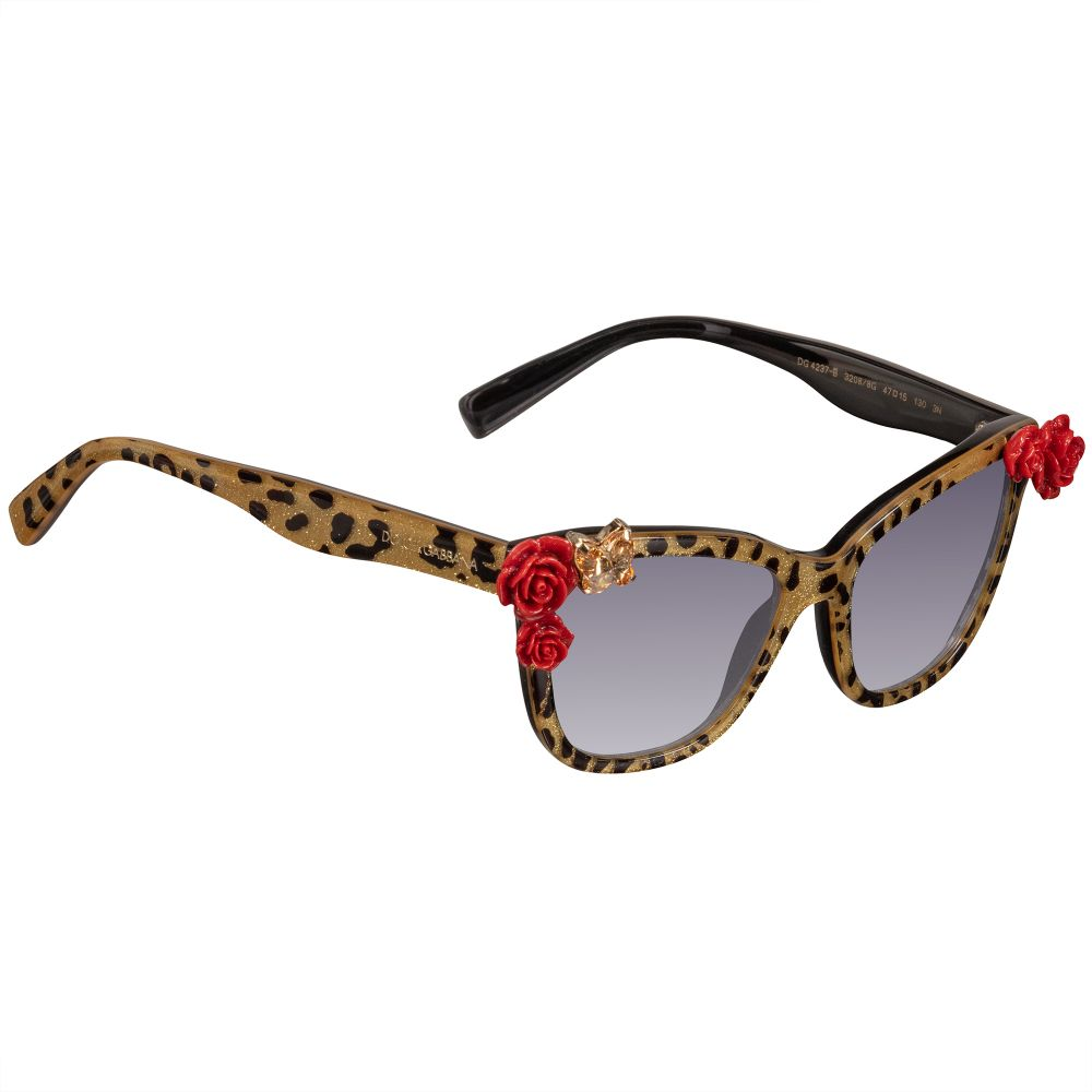 abde89bb58db Dolce & Gabbana - Girls Gold & Black Sunglasses | Childrensalon