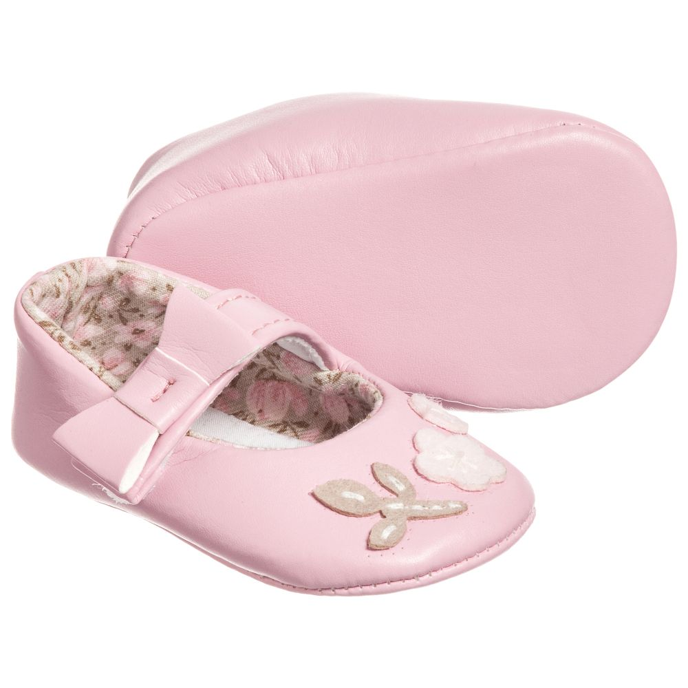 Dr. Kid - Girls Pink Pre-Walker Shoes | Childrensalon