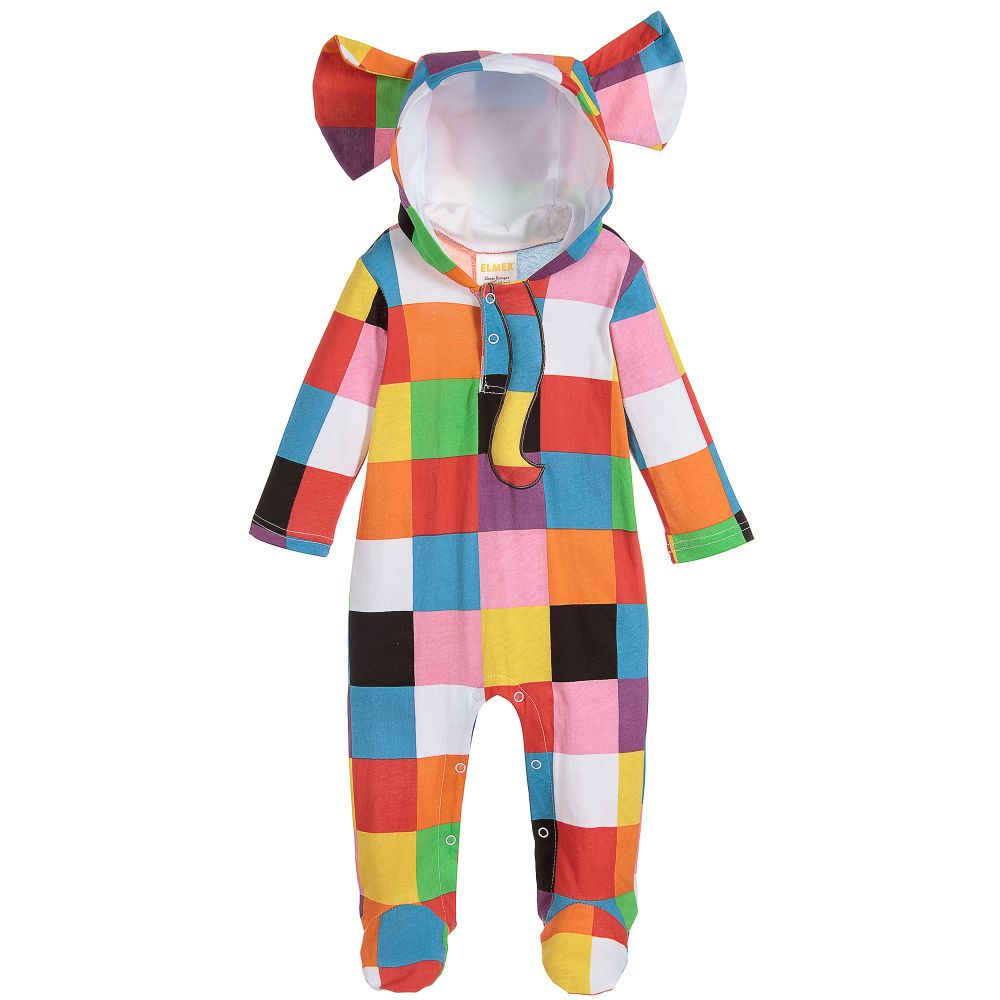 Elmer Cotton Baby Costume