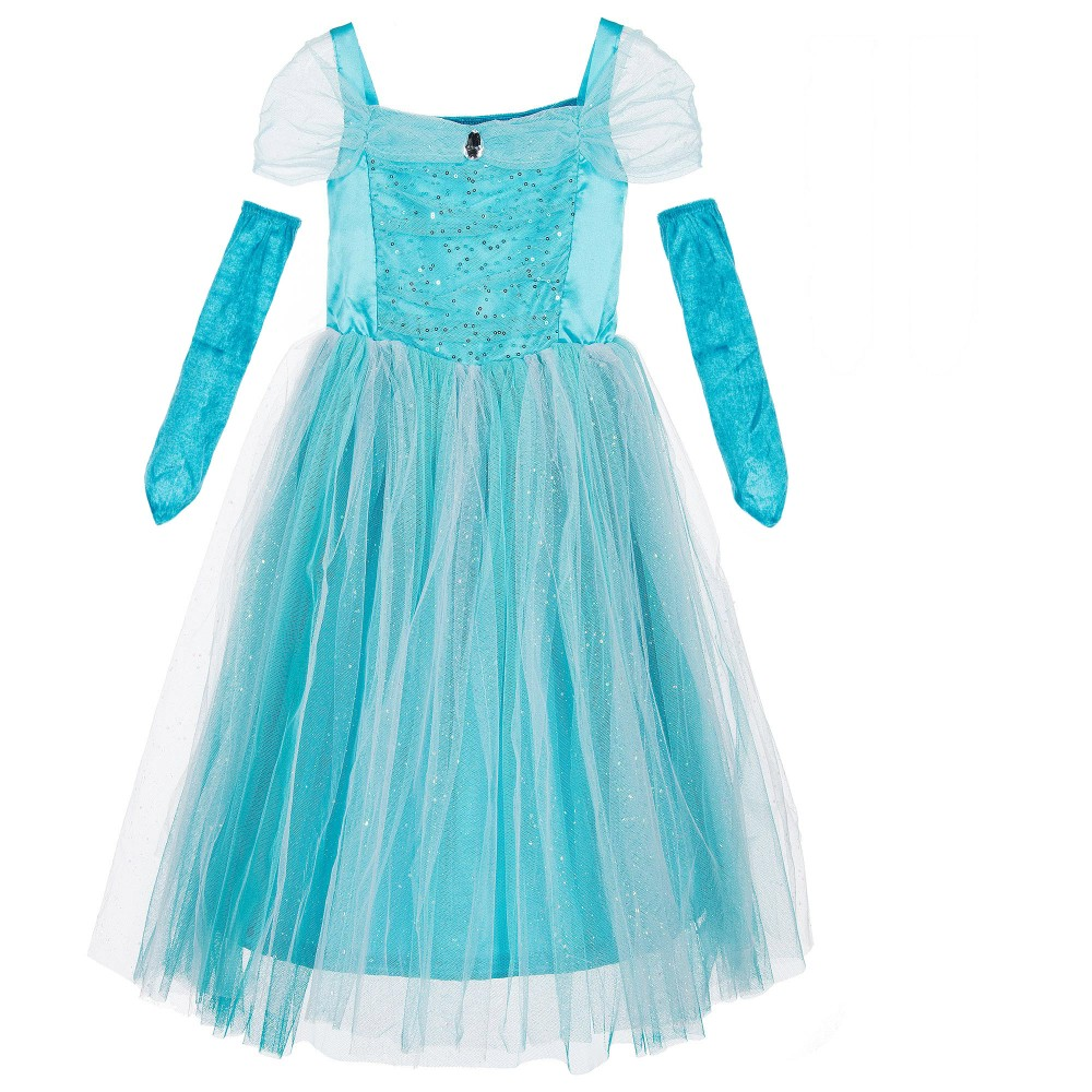 Dress Up: Girls Turquoise 'Sparkle Princess