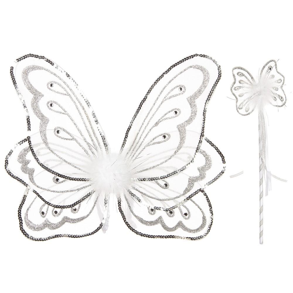 Dress Up by Design - Girls 'White Wings & Wand' Dress-Up Costume   Childrensalon