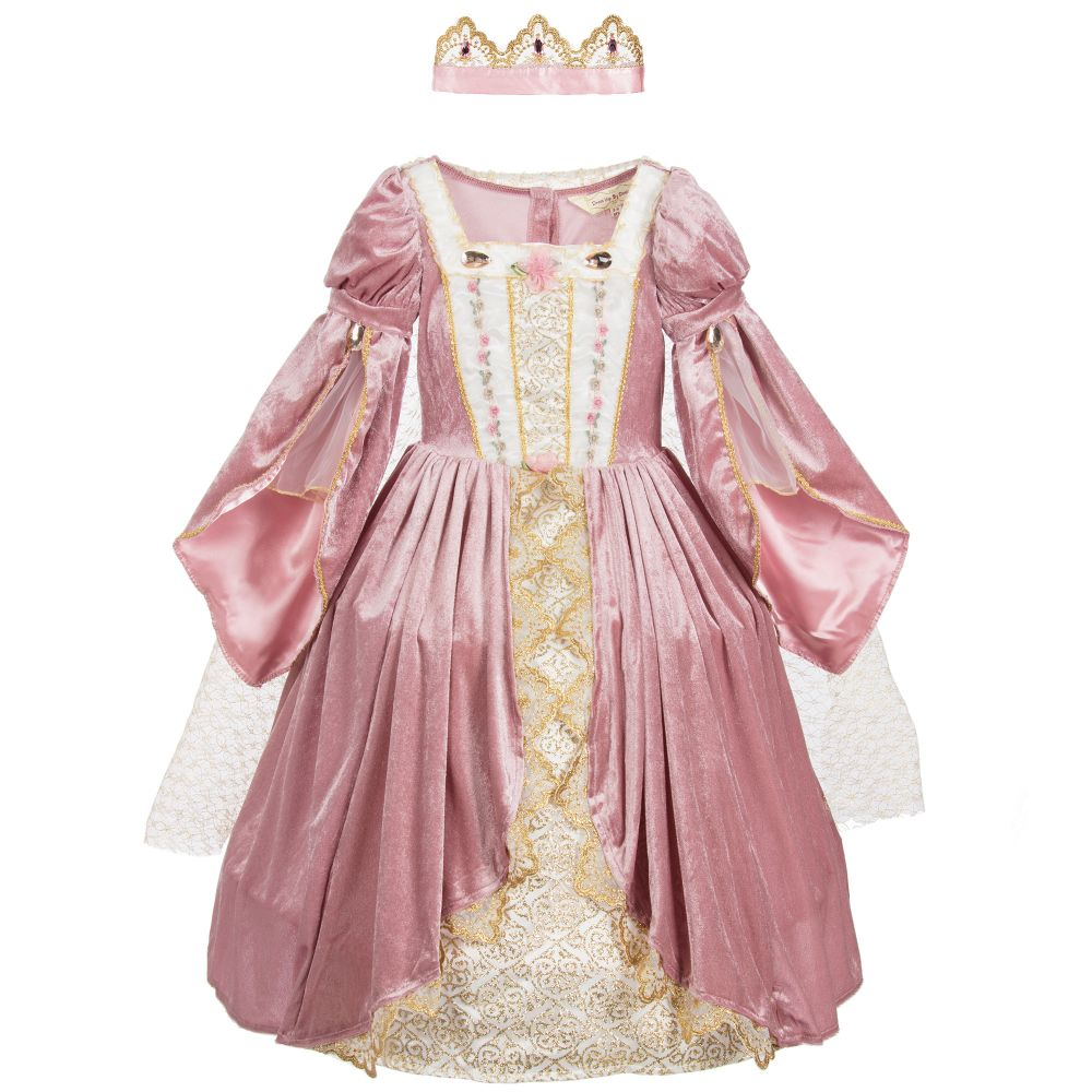 Dress Up by Design - Pink 'Royal Princess' Costume & Crown | Childrensalon