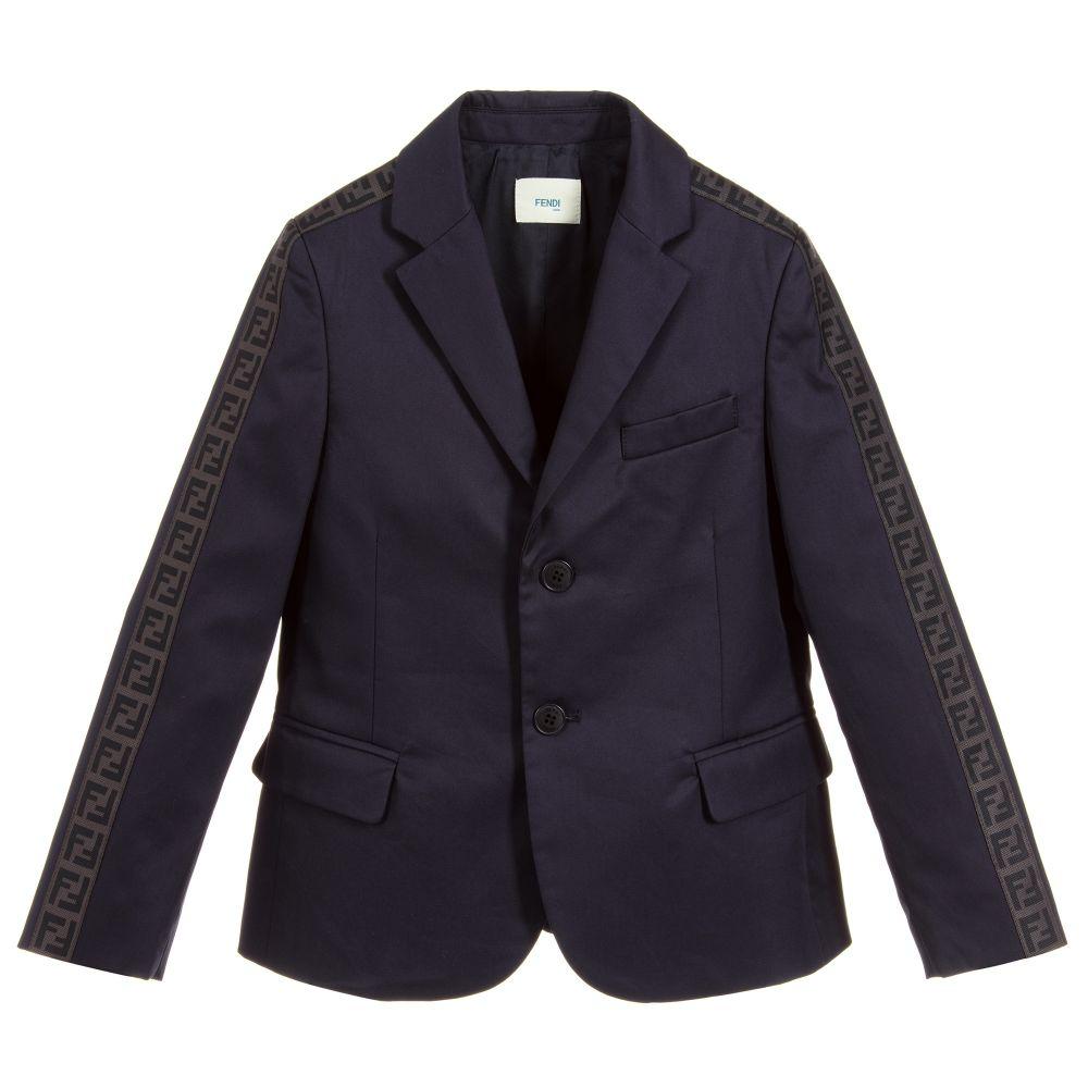 A stone grey Tutto Piccolo blazer , made from 100% linen