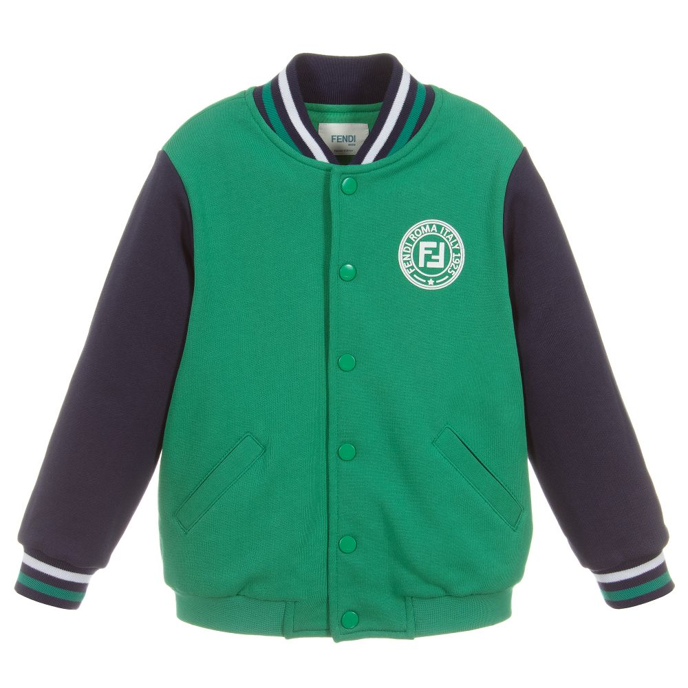 fc656c839 Green FF Logo Bomber Jacket
