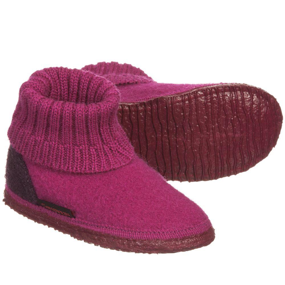 Giesswein - 'Kramsach' Wool Slippers | Childrensalon