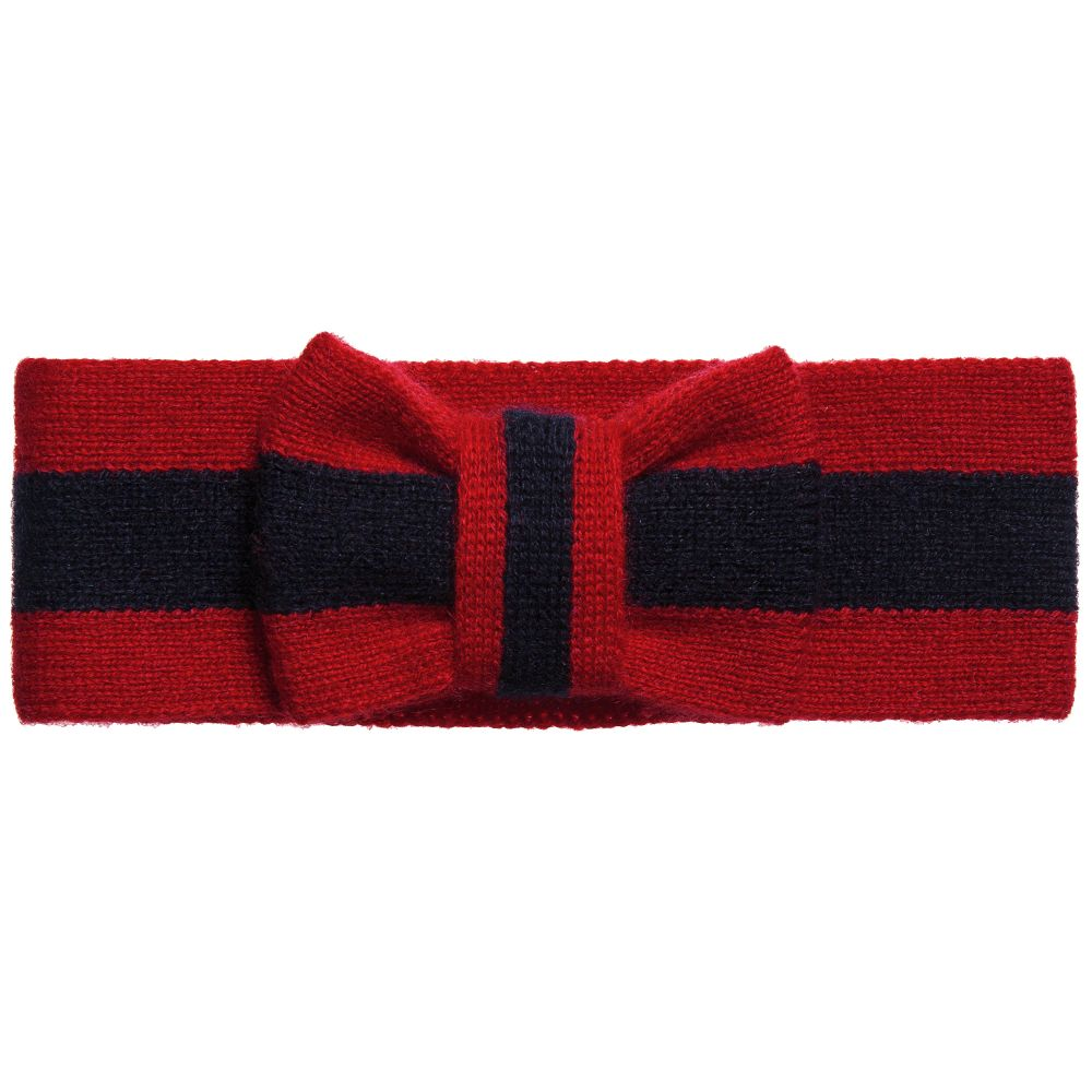 Gucci Girls Cashmere Headband Childrensalon