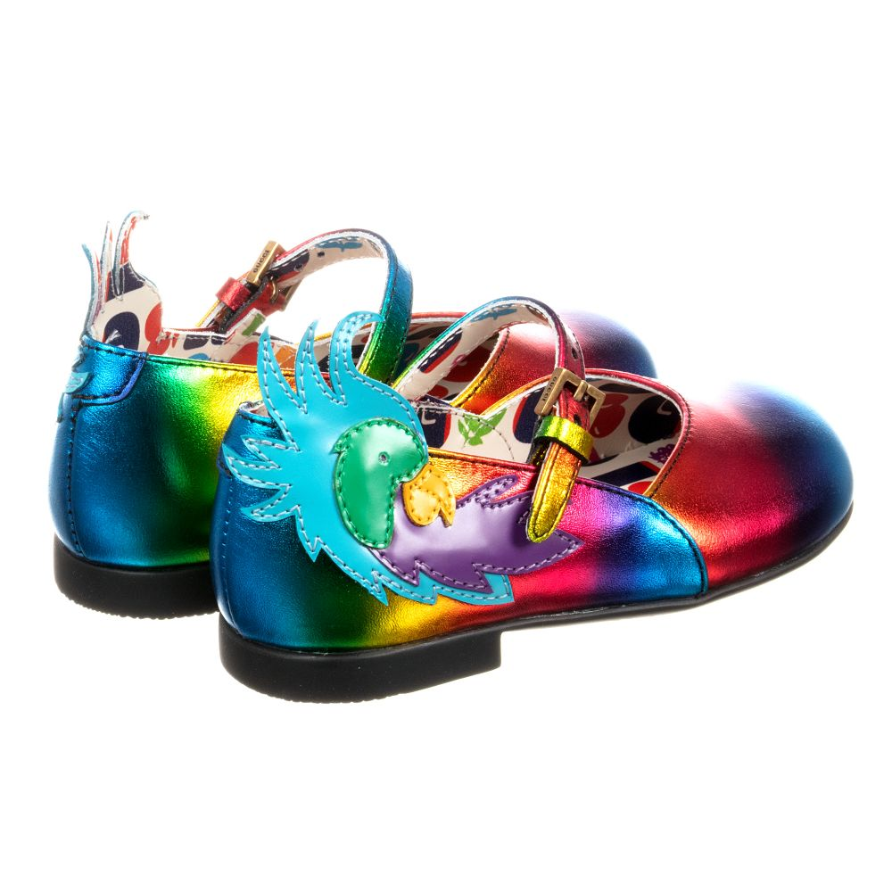 Gucci - Girls Rainbow Parrot Shoes