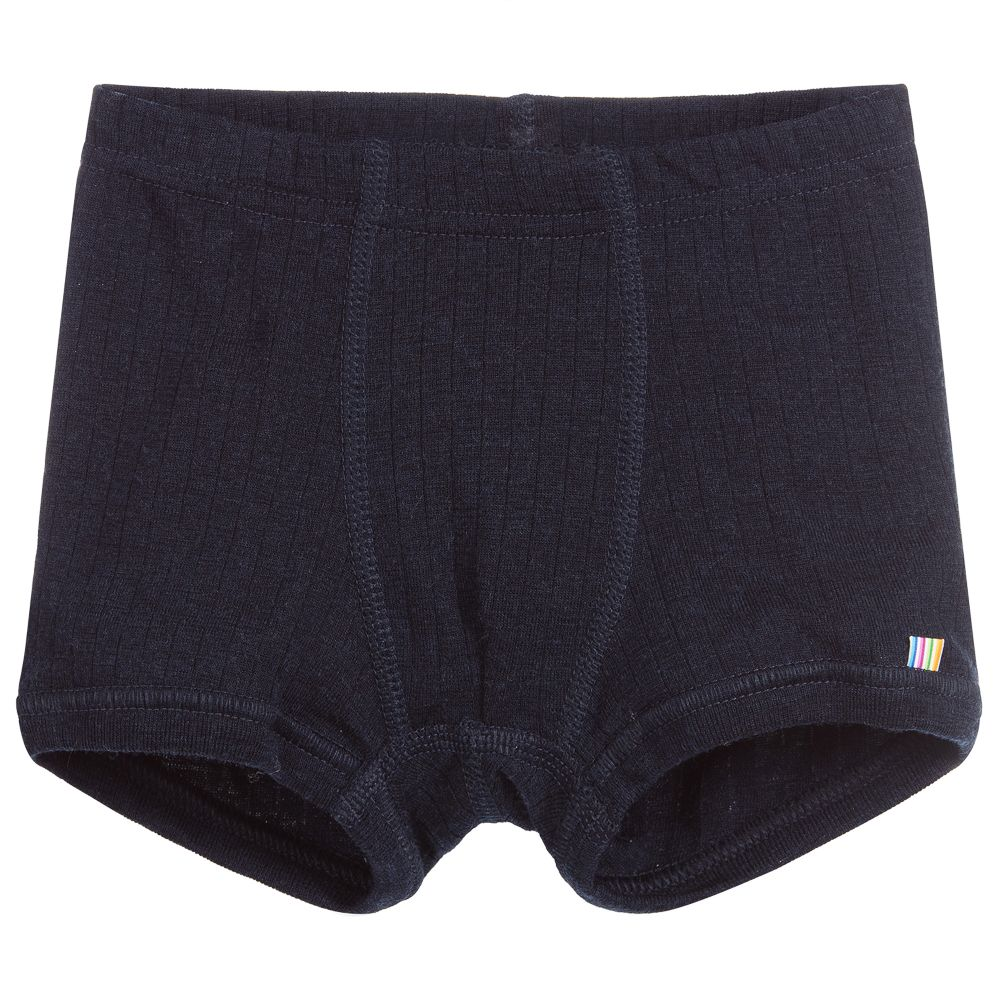 professional sale really comfortable discount coupon Blue Merino Wool Boxer Shorts