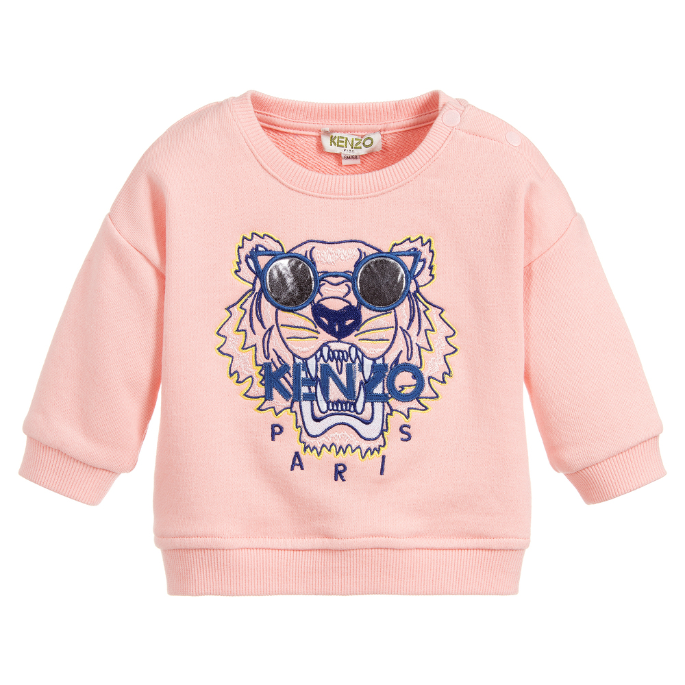 f07a9c2a Kenzo Kids - Baby Girls TIGER Sweatshirt   Childrensalon