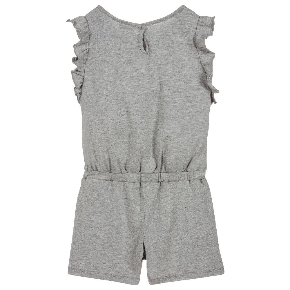 4327ee846b7 Kenzo Kids - Girls Grey Tiger Playsuit