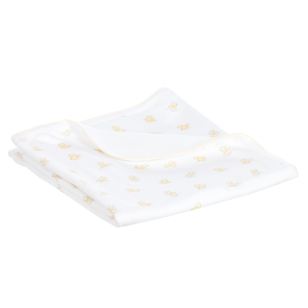 Kissy Kissy Pima Cotton Blanket 70cm Childrensalon